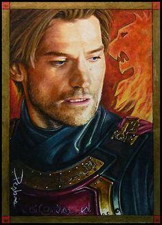 Jaime Lannister by David Desbois  Image Link: http://itsh.bo/JHWym3