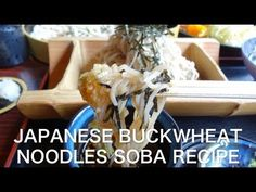 Japanese Buckwheat Noodles SOBA movie 日本そば