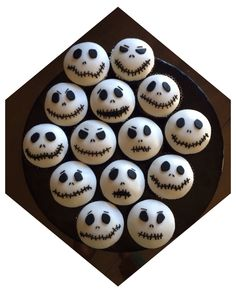 Jack Skelington Cupcakes