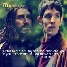 """Merlin <----- When I saw this i kept thinking of the song """"Carry on my Wayward son"""".... Carry on my wayward son. There'll be peace when you are done. Lay your weary head... Don't you cry no more."""