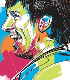 Lionel Messi portrait illustration for a line of graphic tees produced by Adidas. Marvel Art, Marvel Comics, Adidas Messi, Behance, Portrait Illustration, Lionel Messi, Art Director, Illustrators, Pop Culture