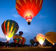 South County Hot Air Balloon Festival - more reasons why rhode island is awesome