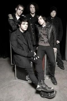 My Chemical Romance. The band that saved my life. Gerard Way, Emo Bands, Music Bands, Mcr Band, Rock Bands, Music Stuff, My Music, Mikey Way, Music Posters
