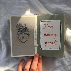 I'm doing great #artbyfiphie Copyright Sophie Neuendorff, 2016