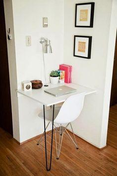 Crie Seu Home Office com Pouco Espaço