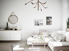 Small Bright Scandinavian Apartment With A Nice Pop Of Colour - Gravity Home Room, Interior, Dream Decor, Interior Inspiration, Interior Spaces, Home Decor, Living Room Interior, Interior Design, Living Decor