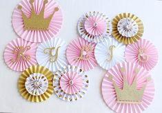 Princesa fiesta decoraciones Princess Baby Shower por PoshSoiree #decoracionbabyshower #decoracionfiestas