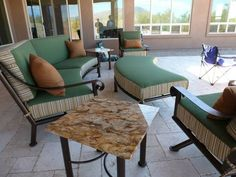Arizona Iron Patio Furniture.