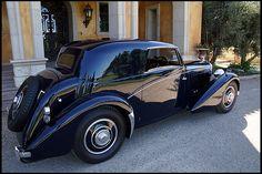 1939 Bentley Vanvooren Sunroof Coupe