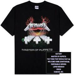Metallica- Master of Puppets T-Shirt