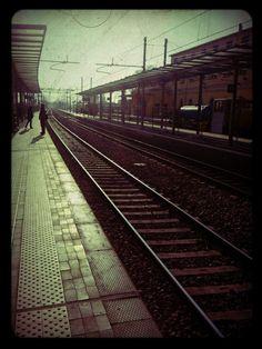 railway station - REggio Emilia lomography by friend ;)