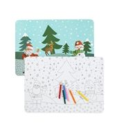 5-pack coloured place-mats