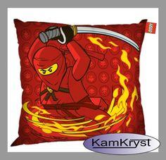 Poszewka na poduszkę Lego Ninjago - Rozmiar poszewki 40x40 cm - 100% bawełna #Lego