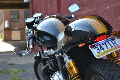 Dedicated to both modern and vintage cafe racers, scramblers, trackers and the people who ride them.