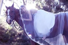 Equestrian Bridal Editorials - The Natascha for Mantilla Bride Shoot is Wildly Romantic (GALLERY)