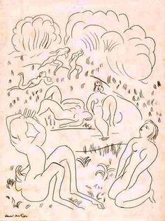 Henri Matisse - Afternoon of a Faun (The Concert) [L'Après-midi d'un faune (le concert)], 1932