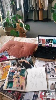 Fashion Model Sketch, Fashion Design Sketchbook, Fashion Design Portfolio, Fashion Illustration Sketches, Fashion Design Drawings, Fashion Sketches, Fashion Jobs, Student Fashion, School Fashion