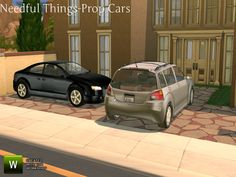 The Sims Resource: Needful Things Car Props by TheNumbersWoman • Sims 4 Downloads
