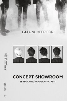 [WINNER - 'FATE NUMBER FOR' CONCEPT SHOWROOM]  originally posted by http://yg-life.com   #WINNER #위너 #fatenumberfor #CONCEPTSHOWROOM #YG
