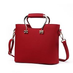 """H.Tavel Lady Womens Luxury 2 Tote Top-Handle Convertible Tote Handbag Satchel With Strap Midsize. Material: High quality Good PU Leather;Luxury Style. Bag size:9.8 """" X 7.8""""X3.54""""(L*H*W) please mind the size before place the order. Have many pocket & extra removable shoulder strap,hand clutch or shoulder bag just on your chioce. 3-Way Use,Come with a shoulder strap, can act as handbag, shoulder bag, cross-body, messenger bag. Elegant urban style, perfect for using in office, Dating ,party…"""