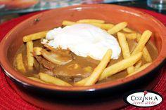 Cozinha com Arte: Bife de vitela com molho tipo Portugália