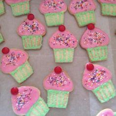 Cupcake Sugar Cookies!!