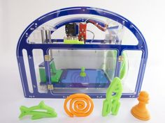Printeer - a 3D printer for kids  schools by Mission Street Manufacturing — Kickstarter.  Design and 3D print your own creations using an iPad. A delightful 3D printing experience for children and K-12 education.