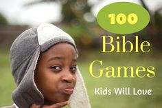 Kids love these free Bible games! Use them in Sunday school, midweek program, children's church, or even at home. These Bible games for kids make things fun.