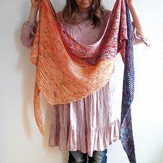 Magic Spring Shawl by Katerina Bobkova ~ FREE pattern