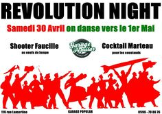 Révolution Night en route vers le 1er Mai !! Shooter Faucille Vous aussi intégrez vos événements dans l'Agenda des Sorties de www.bellemartinique.com C'est GRATUIT !  #martinique #Antilles #domtom #outremer #concert #agenda #sortie #soiree