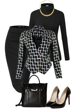 Classical Work Outfit For Winter – Office Fashion Stylish Work Outfits, Fall Outfits For Work, Business Casual Outfits, Business Attire, Work Casual, Classy Outfits, Pretty Outfits, Winter Outfits, Business Formal