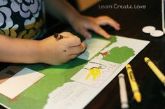 Layers of Rainforest draw and write activity and rainforest video link