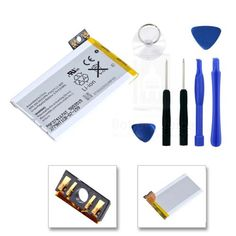 For Apple iPhone 3GS 16GB 32GB 8GB 616-0433 P11G77 Battery With 7 Pcs Tool Kit