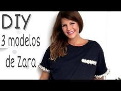 YouTube Moda Zara, Poncho, Chrochet, Refashion, Favorite Color, Sewing Diy, Youtube, Beaded Necklace, Crafts