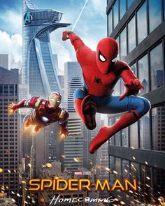 "42 Likes, 2 Comments - Get Your Comic On! (@getyourcomicon) on Instagram: ""Today we have TWO NEW posters for SPIDER-MAN: HOMECOMING! SPIDER-MAN: HOMECOMING is due to be…"""