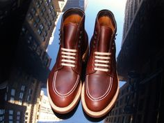 Alden #41146 Brown Chromexcel Indy Boot Modified Last