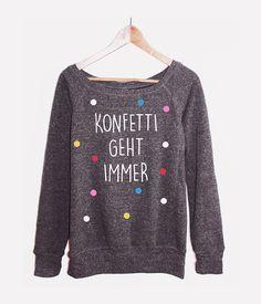 Sweater+Konfetti+Pullover+Hipster+Vintage+Punkte+von+KitschUndKrempel+auf+DaWanda.com