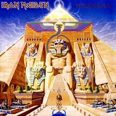 Top 20 Heavy Metal Albums of the Iron Maiden - 'Powerslave' Iron Maiden Powerslave, Metal Music Bands, Heavy Metal Music, Heavy Metal Bands, Albums Iron Maiden, Iron Maiden Album Covers, The Velvet Underground, The Rolling Stones, Michael Jackson Bad