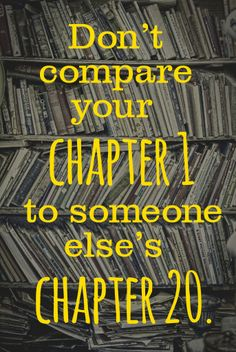 Good Advice, also never assume that you know what chapter anyone else is on.