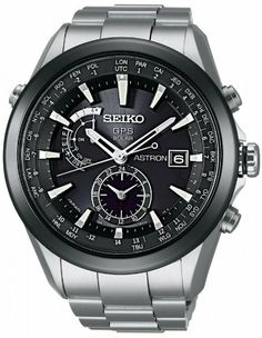 Seiko Astron GPS Solar Mens Watch. Damn, Seiko nailed a part of the market with this one.