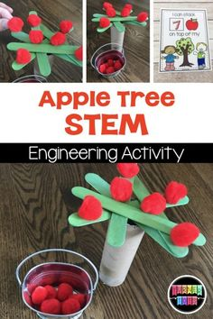 Apple Literacy Activities That Are Red Delicious | Turner Tots