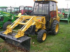 Image Gallery: Exploration of the John Deere 110TLB