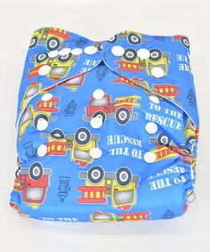 Love this Blue To The Rescue Pocket Diaper by MG Baby on #zulily! #zulilyfinds