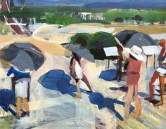 "Saatchi Art Artist Erica Lambertson; Painting, ""Tourists"" #art"