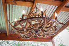 Custom Made Beautiful Unique Handmade Art - Aged Gold Antler Wagon Wheel Chandelier Wagon Wheel Table, Wagon Wheel Light, Wagon Wheel Chandelier, Chandelier For Sale, Chandelier Shades, Chandelier Lighting, Chandeliers, Chandelier Ideas, Deer Antler Chandelier