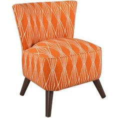 Skyline Furniture Contemporary Chair in Handcut Shapes - BedBathandBeyond.com