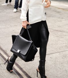 Celine Trapeze Bag | The Finer Details