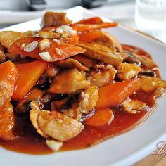 """Пиле+в+сладко-кисел+сос+""""Пекин"""""""