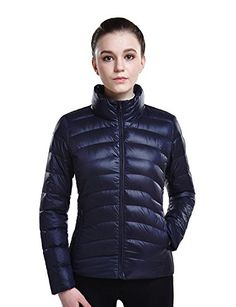 Puredown Weatherproof Womens Packable Down Puffer Jacket >>> See this great product. (This is an affiliate link) #DownParkasCoatsJacketsVests
