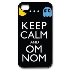 iPhone 4 Case Keep Calm Om Nom iPhone Case